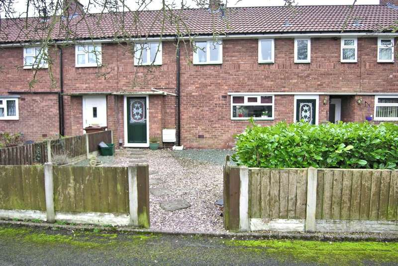 3 Bedrooms Terraced House for sale in SILKMORE CRESCENT, SILKMORE, STAFFORD ST17