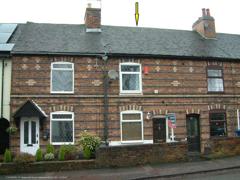 2 Bedrooms Terraced House for sale in Tamworth Road, Amington, B77 3BY
