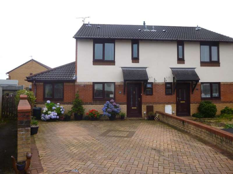 3 Bedrooms Semi Detached House for sale in Oaktree Drive, Newtron, Porthcawl CF36