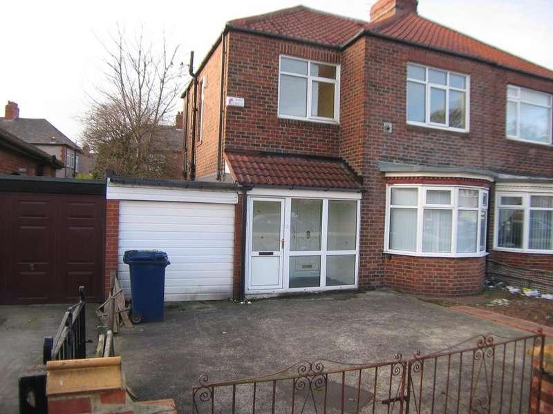 3 Bedrooms Semi-detached Villa House for sale in Beadnell Gardens, Fenham, Newcastle upon Tyne NE4