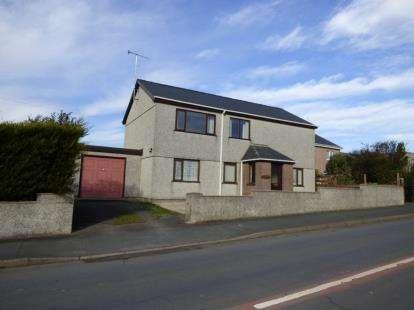 3 Bedrooms Detached House for sale in Tai'r Lon, Nefyn, Pwllheli, Gwynedd, LL53