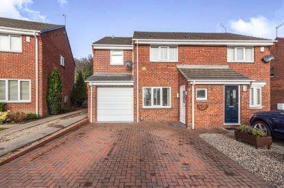 3 Bedrooms Semi Detached House for sale in Troon Close, Usworth, Washington, Tyne and Wear, NE37