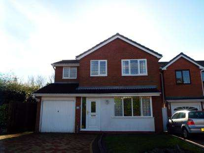 4 Bedrooms Detached House for sale in Clover Meadows, Cannock, Staffordshire