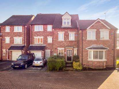 3 Bedrooms Terraced House for sale in Butlerwood Close, Kirkby In Ashfield, Nottingham, Nottinghamshire