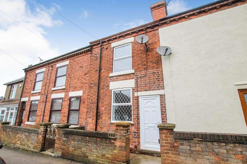 2 Bedrooms Terraced House for sale in New Street, Swanwick, Derbyshire DE55