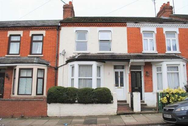 3 Bedrooms Terraced House for sale in Cecil Road, Queens Park, Northampton NN2 6PG