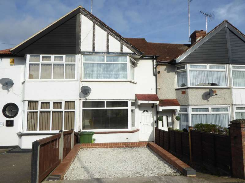 2 Bedrooms Terraced House for sale in Parkside Avenue, Barnehurst, Kent, DA7 6NQ