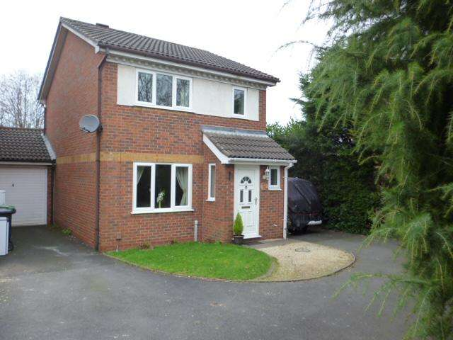 3 Bedrooms Detached House for sale in AGENORIA DRIVE, STOURBRIDGE DY8