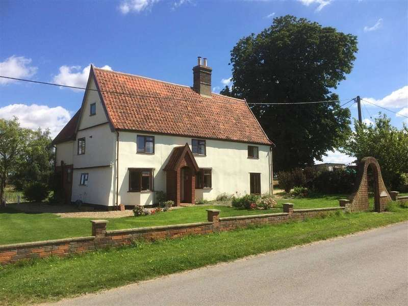 4 Bedrooms Detached House for sale in Common Road, Dickleburgh, Norfolk