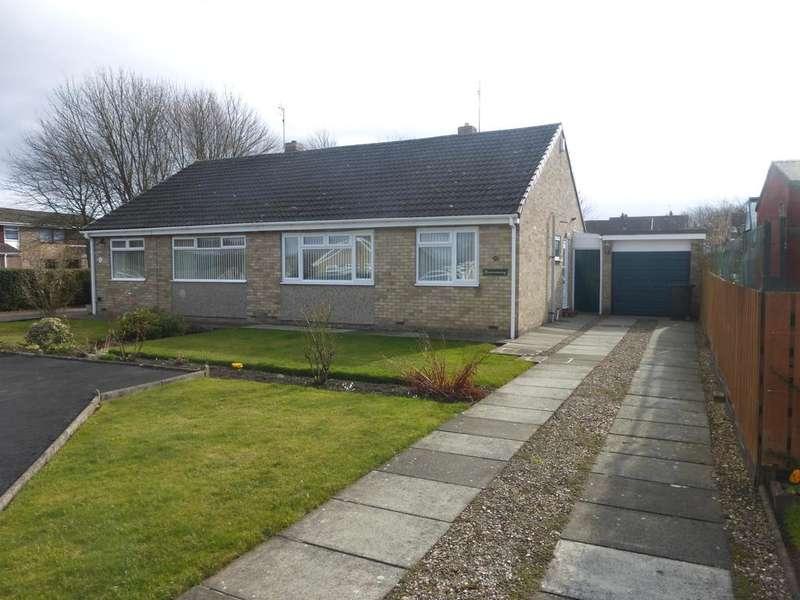 2 Bedrooms Semi Detached Bungalow for sale in Farndale, Spennymoor DL16