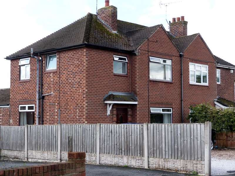 3 Bedrooms Semi Detached House for sale in Chestnut Avenue Shavington