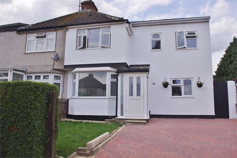 5 Bedrooms Semi Detached House for sale in Hood Avenue, POVEREST, ORPINGTON, Kent
