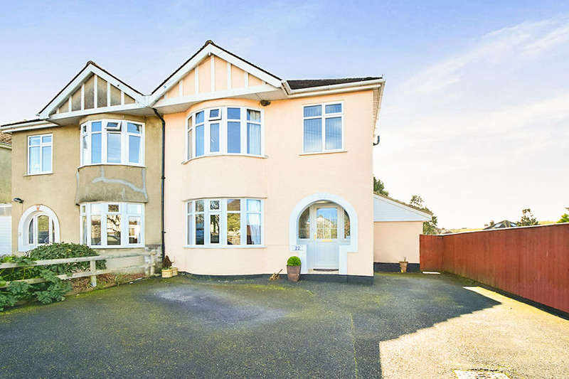 3 Bedrooms Semi Detached House for sale in Mile End Road, Newton Abbot, TQ12