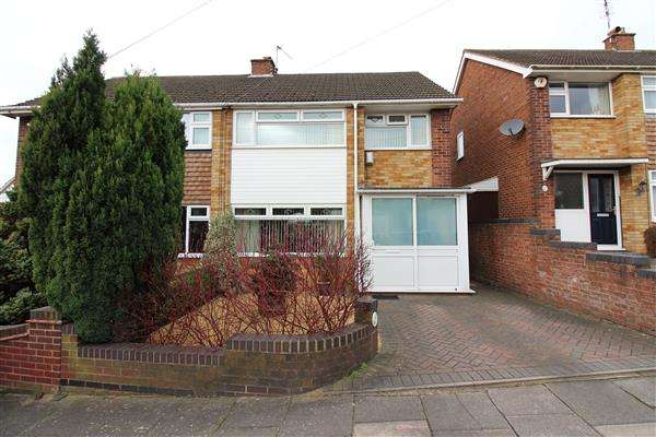 3 Bedrooms Semi Detached House for sale in Southridge, Allesley Park, Coventry