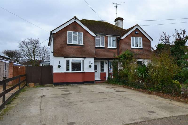 3 Bedrooms Semi Detached House for sale in St. Johns Road, Swalecliffe, Whitstable