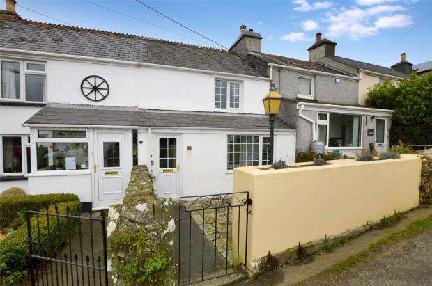 2 Bedrooms Terraced House for sale in Port View Terrace, Tideford Road, Landrake, Saltash