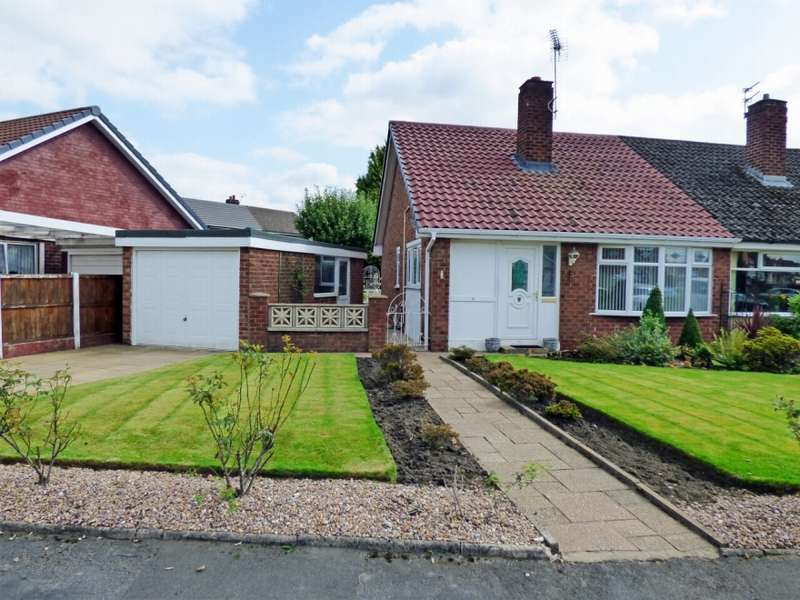 3 Bedrooms Semi Detached Bungalow for sale in Swanage Avenue Stockport