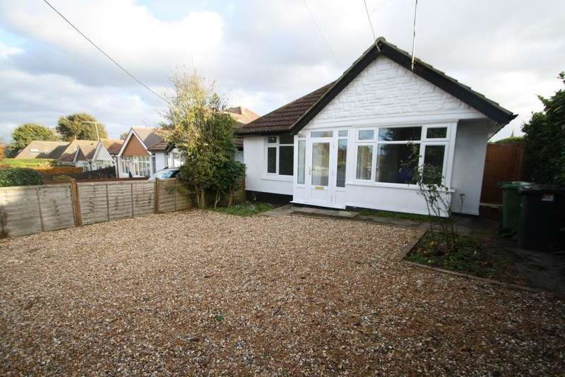3 Bedrooms Detached Bungalow for sale in Upper Northam Road, Hedge End SO30