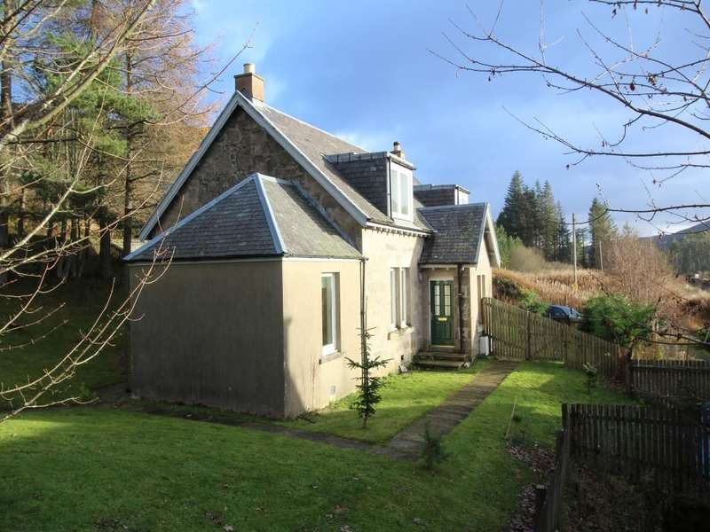 3 Bedrooms Semi Detached House for sale in Station Cottages, Dalnaspidal, Pitlochry, PH18