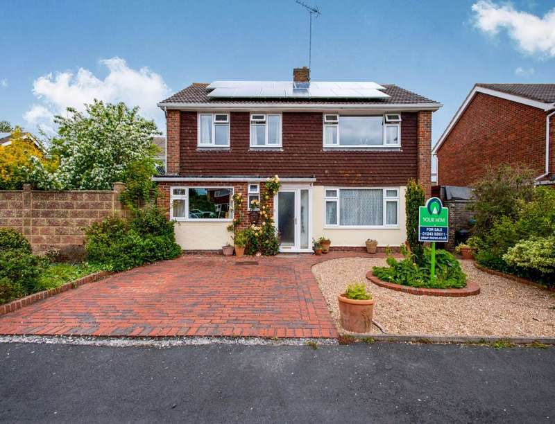 4 Bedrooms Detached House for sale in Chalfont Close, Bognor Regis, PO22