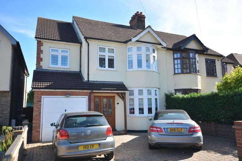 4 Bedrooms Semi Detached House for sale in Harrow Drive, Hornchurch, Essex RM11