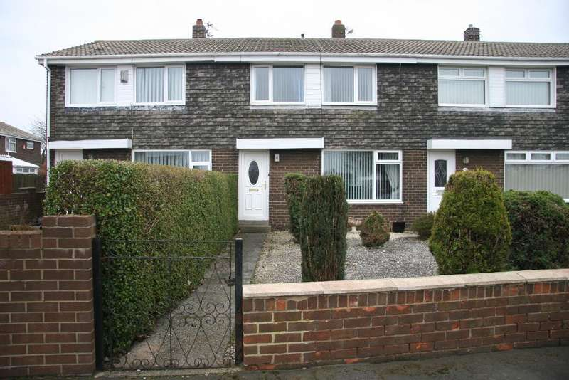 3 Bedrooms Terraced House for sale in Highfield Drive, ASHINGTON, Northumberland, NE63 9SP