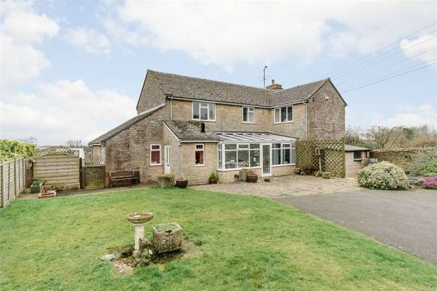 4 Bedrooms Detached House for sale in Back Lane, Winstone, Cirencester, Gloucestershire