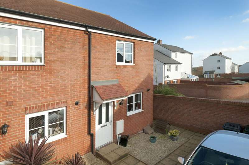 2 Bedrooms Terraced House for sale in Herdwick Close, Bridgefield, Ashford, TN25