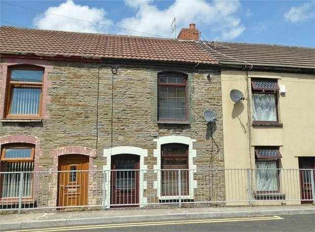 2 Bedrooms Cottage House for sale in Wern Cottages, Caerphilly Road, Nelson, Caerphilly