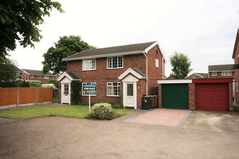 2 Bedrooms Semi Detached House for sale in Parkers Road Coppenhall Crewe