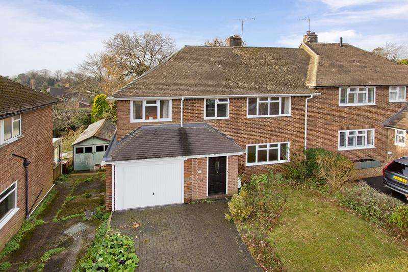 4 Bedrooms Semi Detached House for sale in Banner Farm Road, Tunbridge Wells TN2