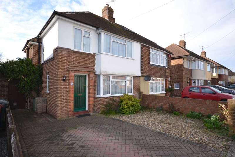 3 Bedrooms Semi Detached House for sale in Mayfield Drive, Caversham