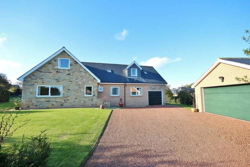 5 Bedrooms Detached House for sale in 2 Embleton Close, Longframlington, Morpeth, Northumberland NE65