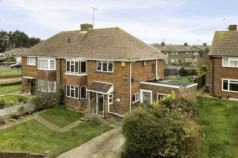 3 Bedrooms Semi Detached House for sale in Ferring