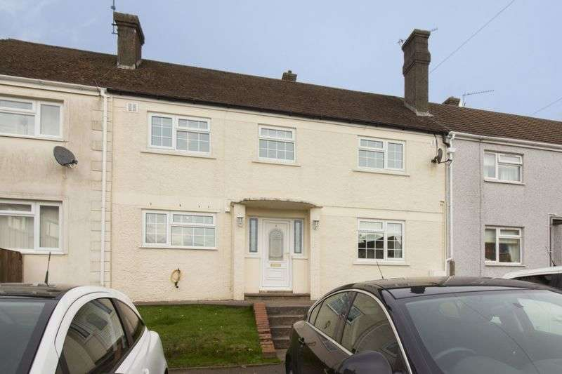4 Bedrooms Terraced House for sale in Glosters Parade, Pontypool