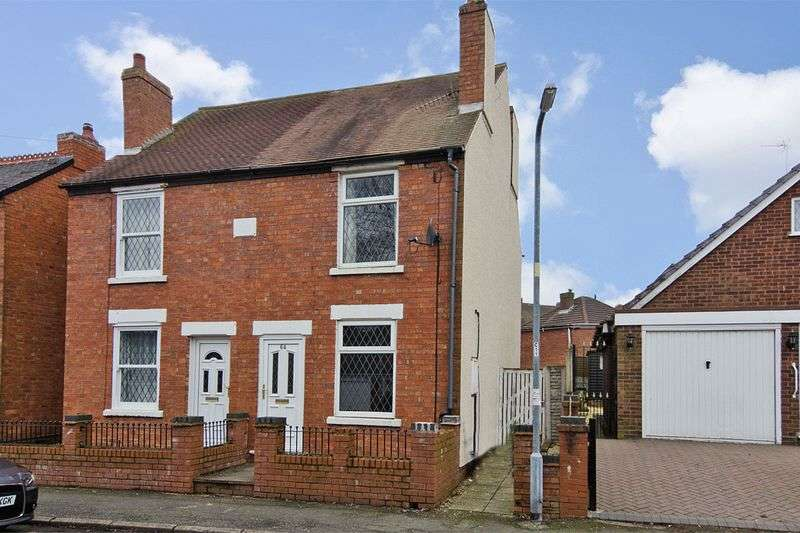 2 Bedrooms Semi Detached House for sale in Edwards Street, Cannock