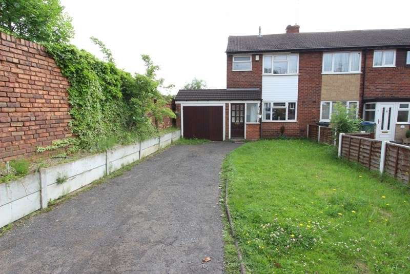 3 Bedrooms Semi Detached House for sale in Heath Close, Tipton