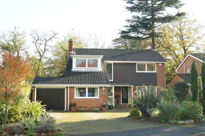 5 Bedrooms Detached House for sale in Netherby Park, Weybridge, Surrey, KT13