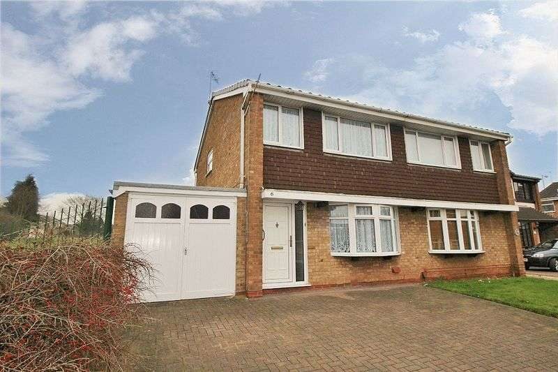 3 Bedrooms Semi Detached House for sale in Granbourne Road, Bentley, Walsall