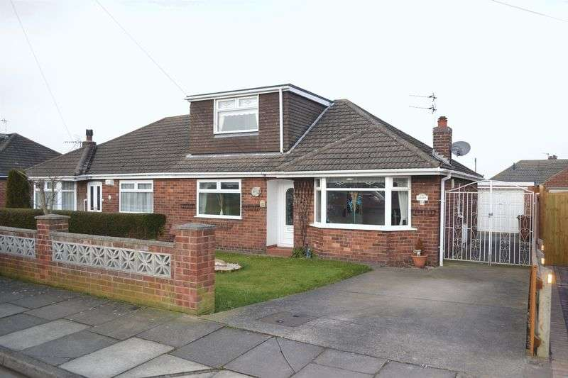 3 Bedrooms Semi Detached Bungalow for sale in Emfield Road, Scartho