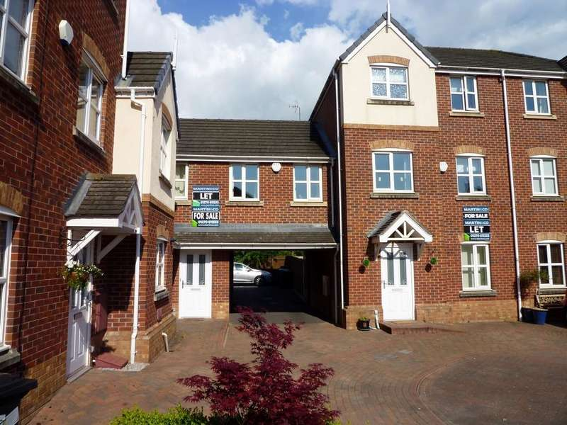 4 Bedrooms Town House for sale in Talbot Way Stapeley Nantwich