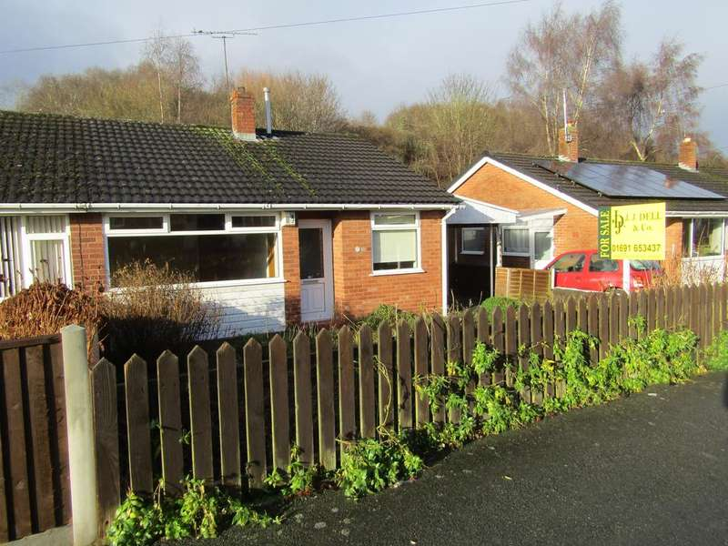 2 Bedrooms Semi Detached Bungalow for sale in Monkmoor Road, Oswestry SY11
