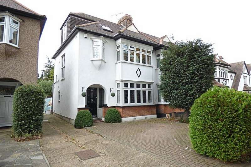 4 Bedrooms Semi Detached House for sale in Maple Avenue, Upminster RM14
