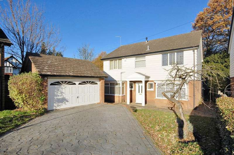 4 Bedrooms House for sale in Marlborough Gardens, Newbridge, Wolverhampton WV6