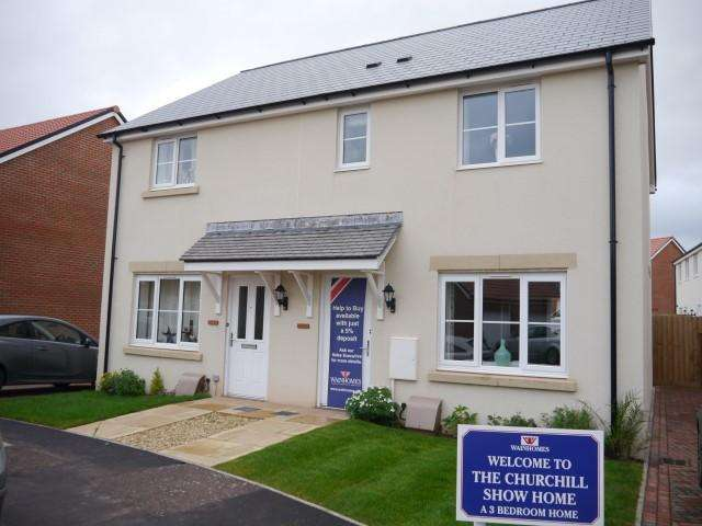 3 Bedrooms Semi Detached House for sale in Hunters Green, Wellington TA21