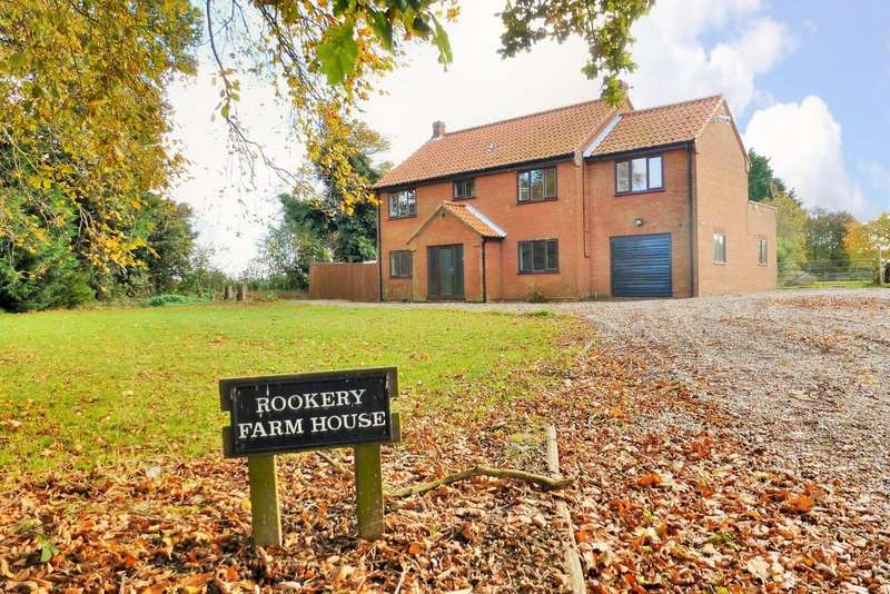 4 Bedrooms Detached House for sale in Trunch, North Walsham