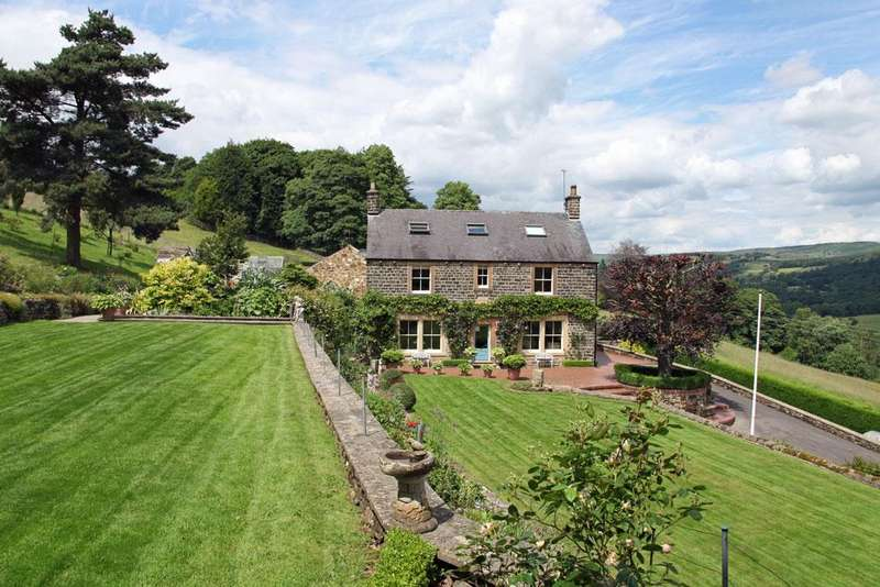 6 Bedrooms Detached House for sale in Sir William Cottage, Grindleford, Hope Valley, Derbyshire S32