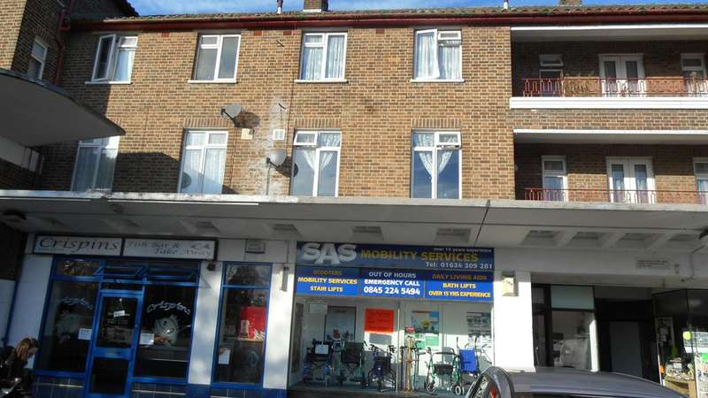 2 Bedrooms Maisonette Flat for sale in Twydall Green, Twydall, Gillingham, Kent ME8