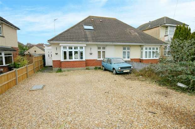 4 Bedrooms Semi Detached Bungalow for sale in Oakdale, Poole, Dorset