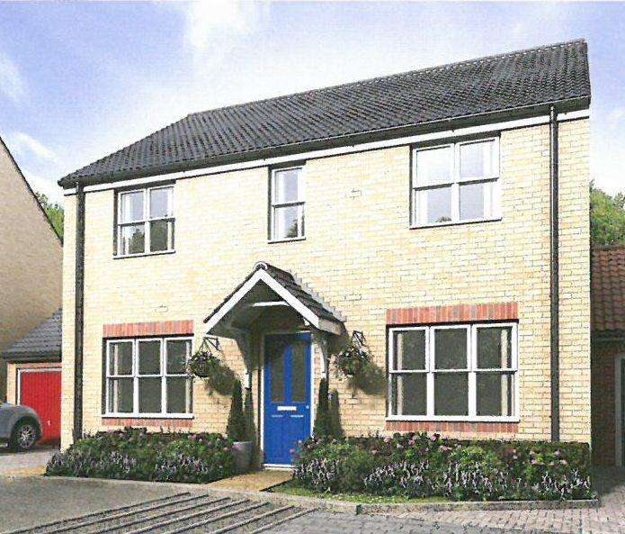 4 Bedrooms Link Detached House for sale in NEW HOUSE, PLOT 24 HAMILTON GATE, FRINTON ON SEA